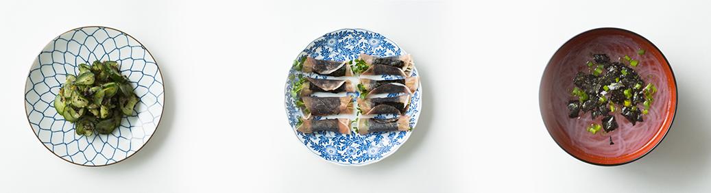 海苔の料理の画像