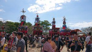 柳川市お祭り「おにぎえ」