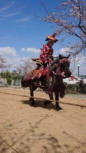 3月31日 柳川市 流鏑馬祭り